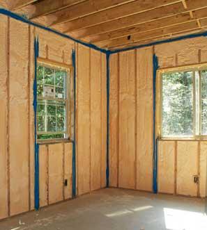 Wall Insulation for Residential | Spray Foam insulation