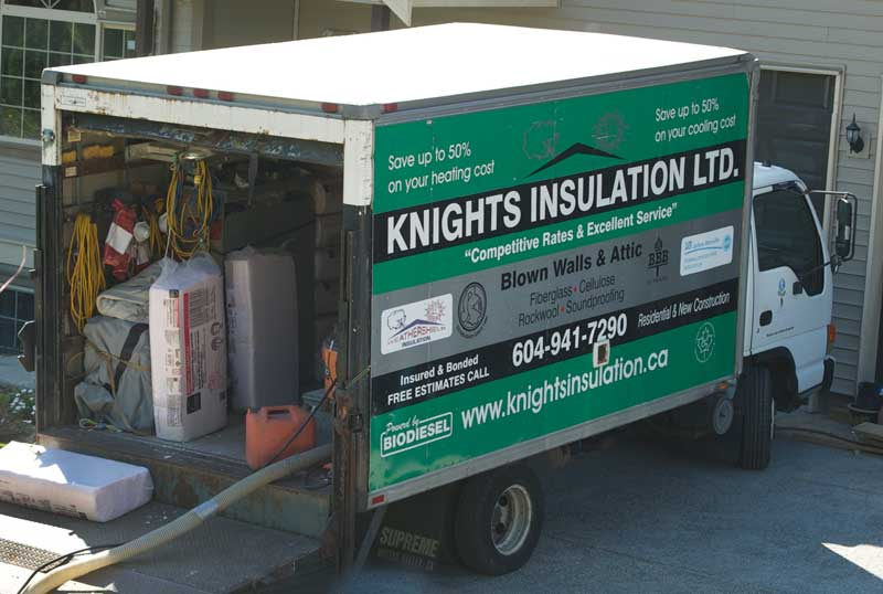 Knights Insulation Projects Residential Commercial